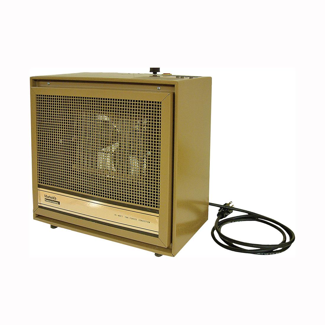 Picture of TPI 474 Series H474TMC Dual-Heat Portable Heater, 8.3/16.6 A, 240 V, 1920/3840 W, 13,106 Btu Heating