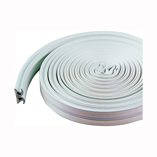 Picture of M-D 43846 Weatherstrip Tape, 3/8 in W, 17 ft L, EPDM/Silicone, White