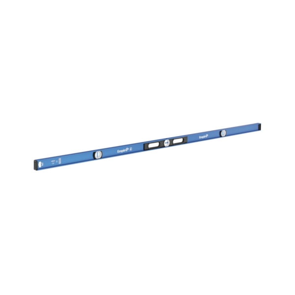 Picture of Empire em55.78 I-Beam Level, 78 in L, 3 -Vial, Magnetic, Aluminum, Blue