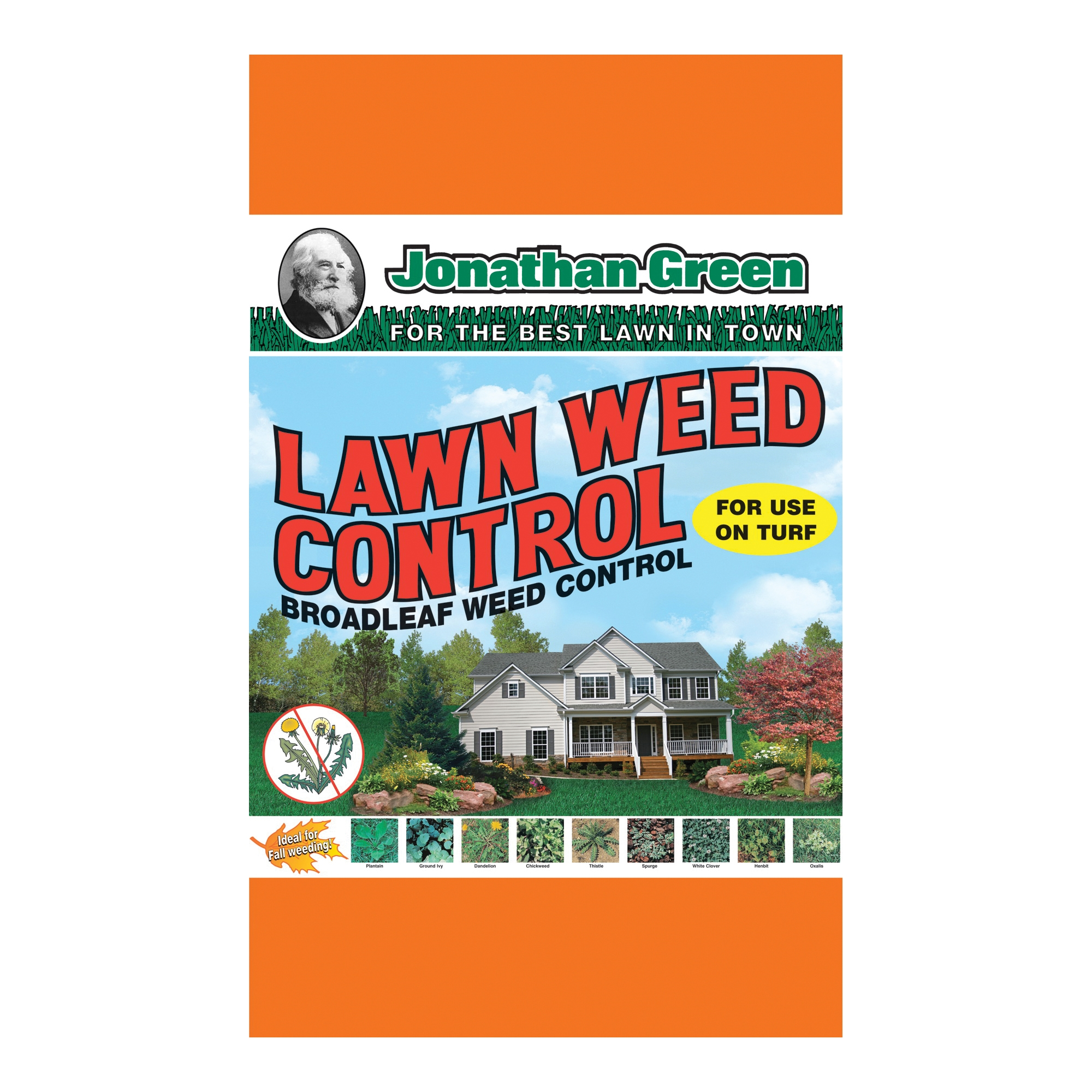 Picture of Jonathan Green 12195 Lawn Weed Control, Granular, Yellow, 10 lb Package, Bag