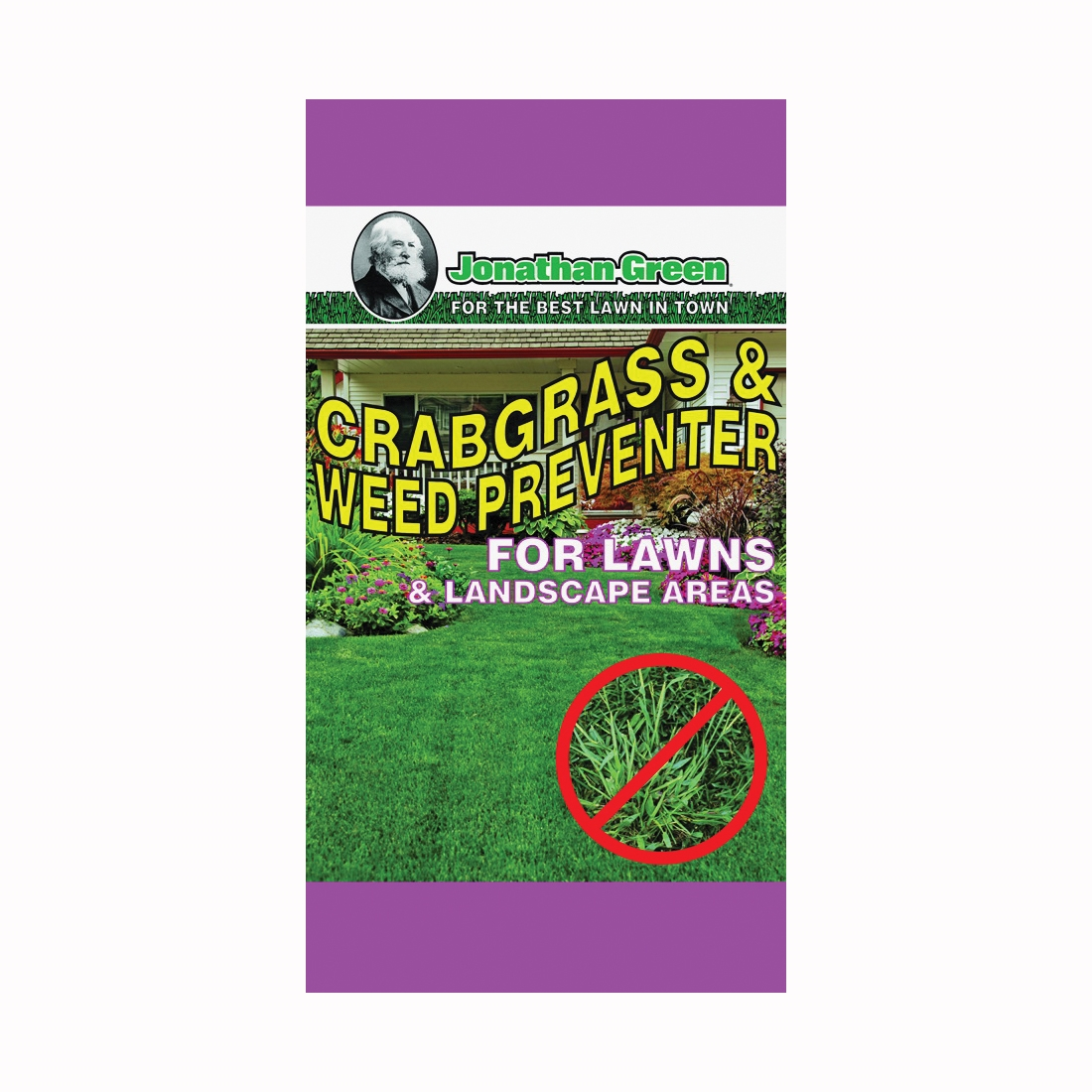 Picture of Jonathan Green 12350 Crabgrass and Weed Preventer, Granular, 12 lb Package, Bag
