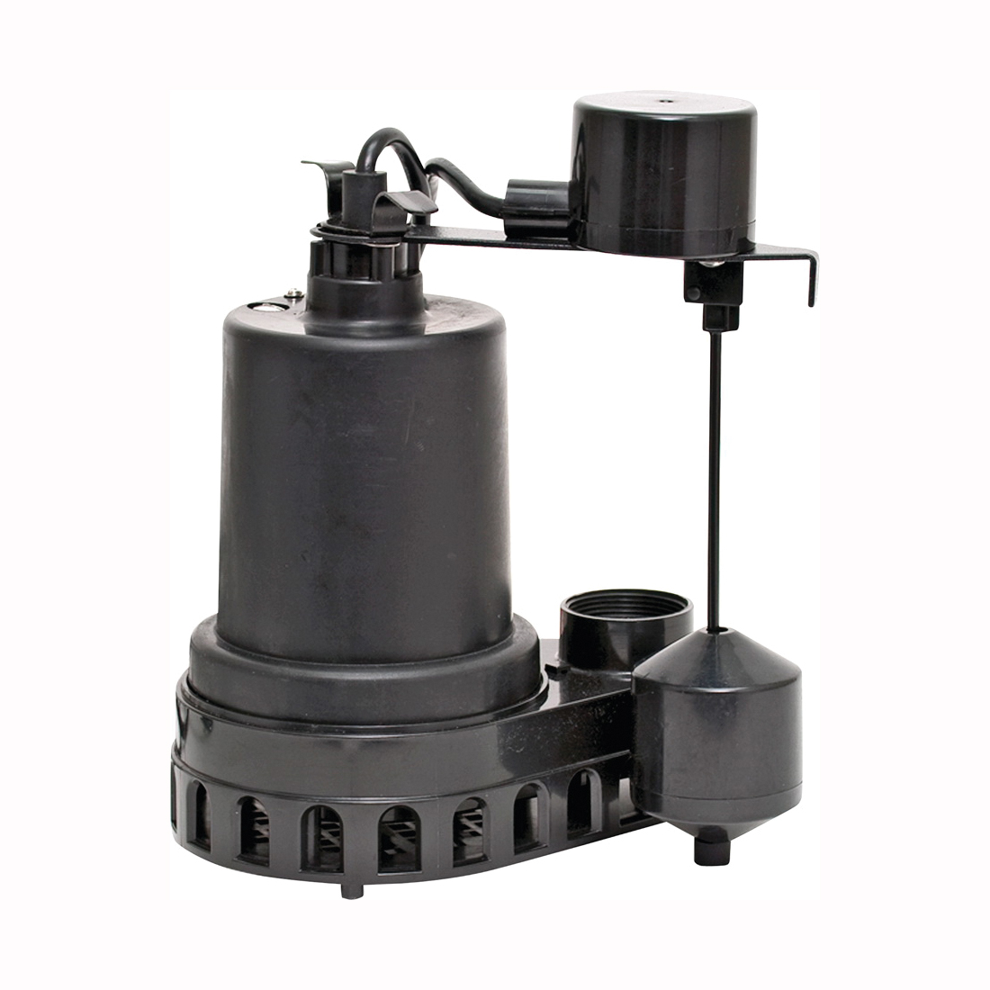 Picture of SUPERIOR PUMP 92372 Sump Pump, 4.1 A, 120 V, 0.33 hp, 1-1/2 in Outlet, 48 gpm, Thermoplastic