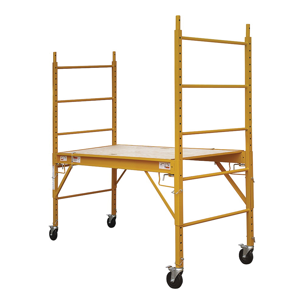 Picture of ProSource YH-SD601 Portable Scaffold, 27-15/16 to 71-1/4 in H Adjustment, 1000 lb