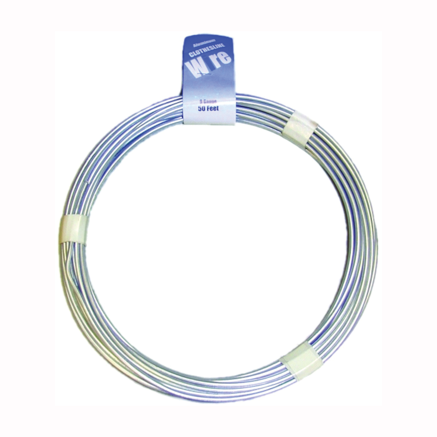 Picture of MIDWEST FASTENER 11267 Solid Wire Stranded Clothesline, 50 ft L, Aluminum