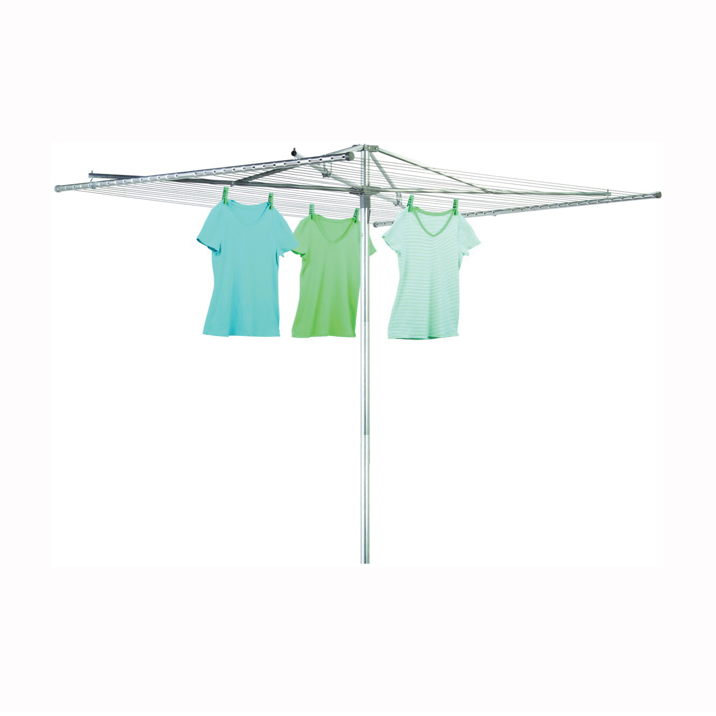 Picture of Honey-Can-Do DRY-02201 Umbrella Clothes Dryer, 72 in L, Steel