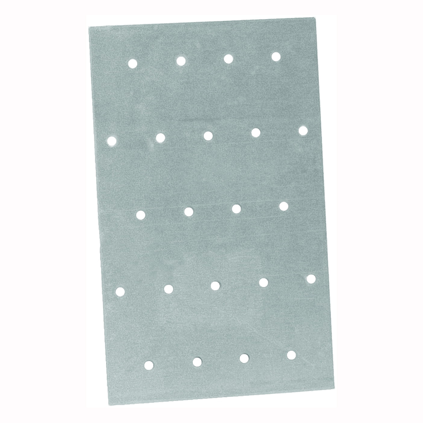 Picture of MiTek NP35 Truss Mending Plate, 5 in L, 3-1/8 in W, Steel, Galvanized, Nail Mounting