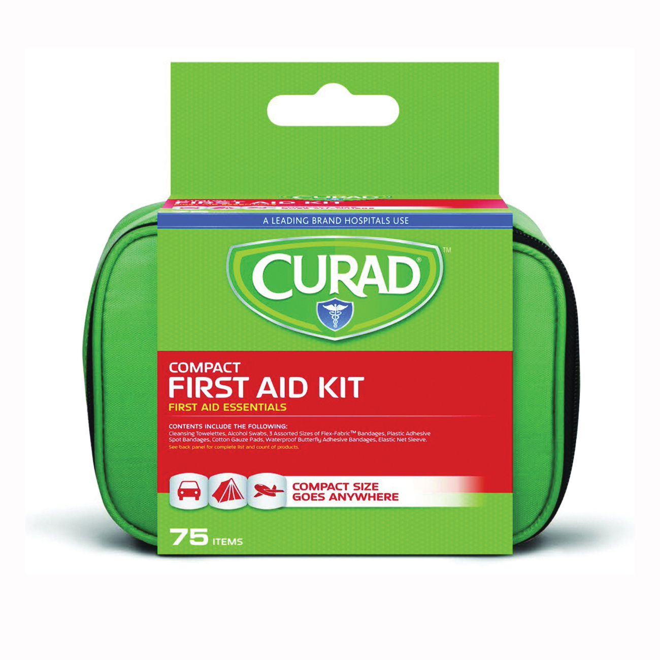 Picture of CURAD CURFAK200RB First Aid Kit, 75 -Piece