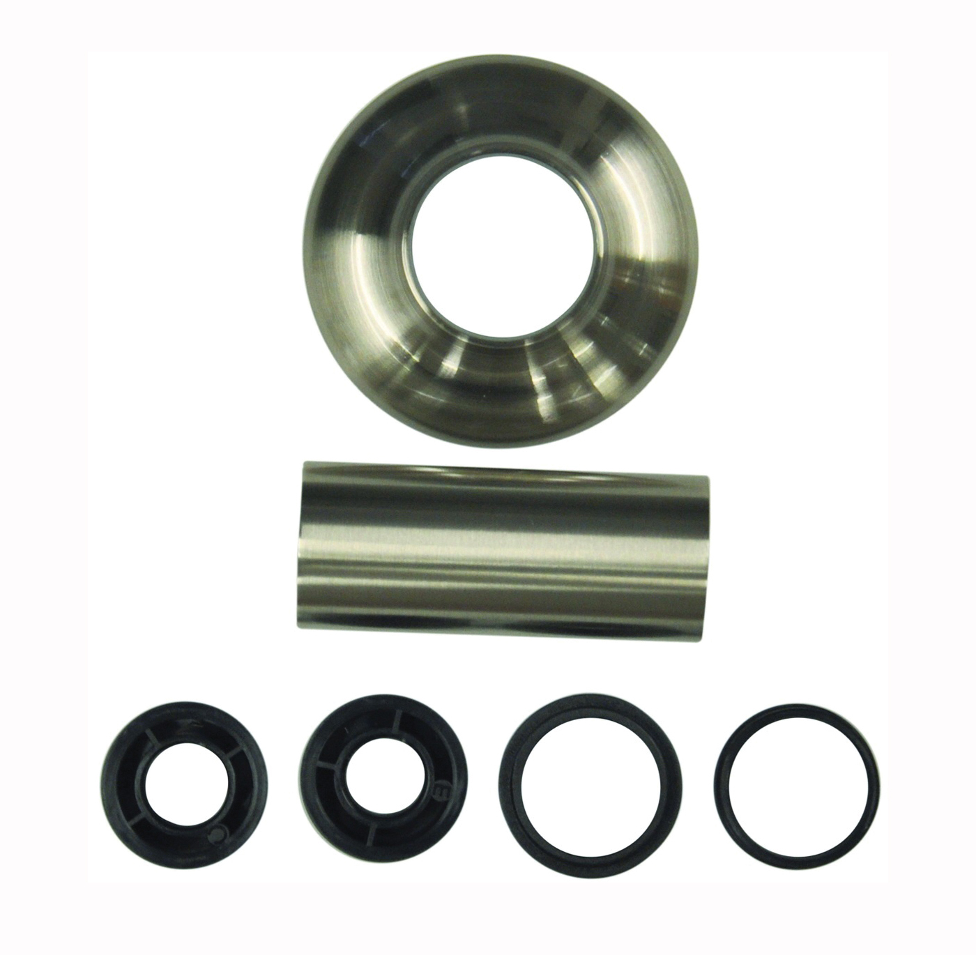 Picture of Danco 10308 Flange Set, 1-1/16 to 9/16 in Adapter, 1-1/2 in Flange ID, 3 in Flange, 1-1/2 in Tube OD, Brushed Nickel