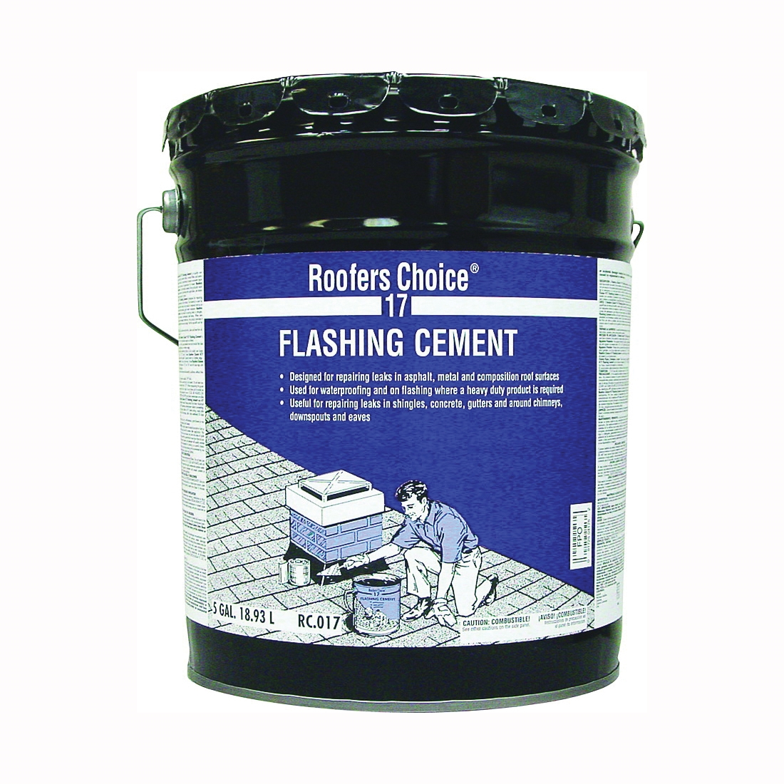 Picture of Henry 17 Series RC017070 Flashing Cement, 5 gal Package, Pail