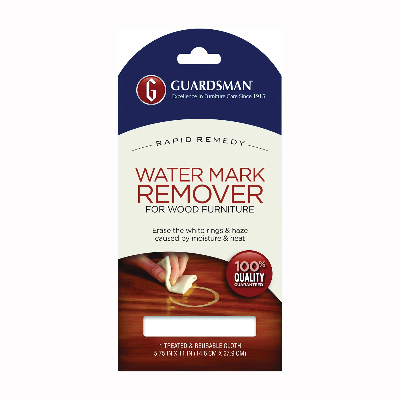 Picture of GUARDSMAN 405200 Reusable Ring and Mark Remover Cloth