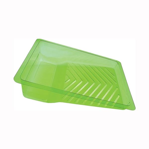 Picture of ENCORE Plastics EcoSmart 201466 Paint Tray Liner, 3 qt Capacity, Plastic, Green