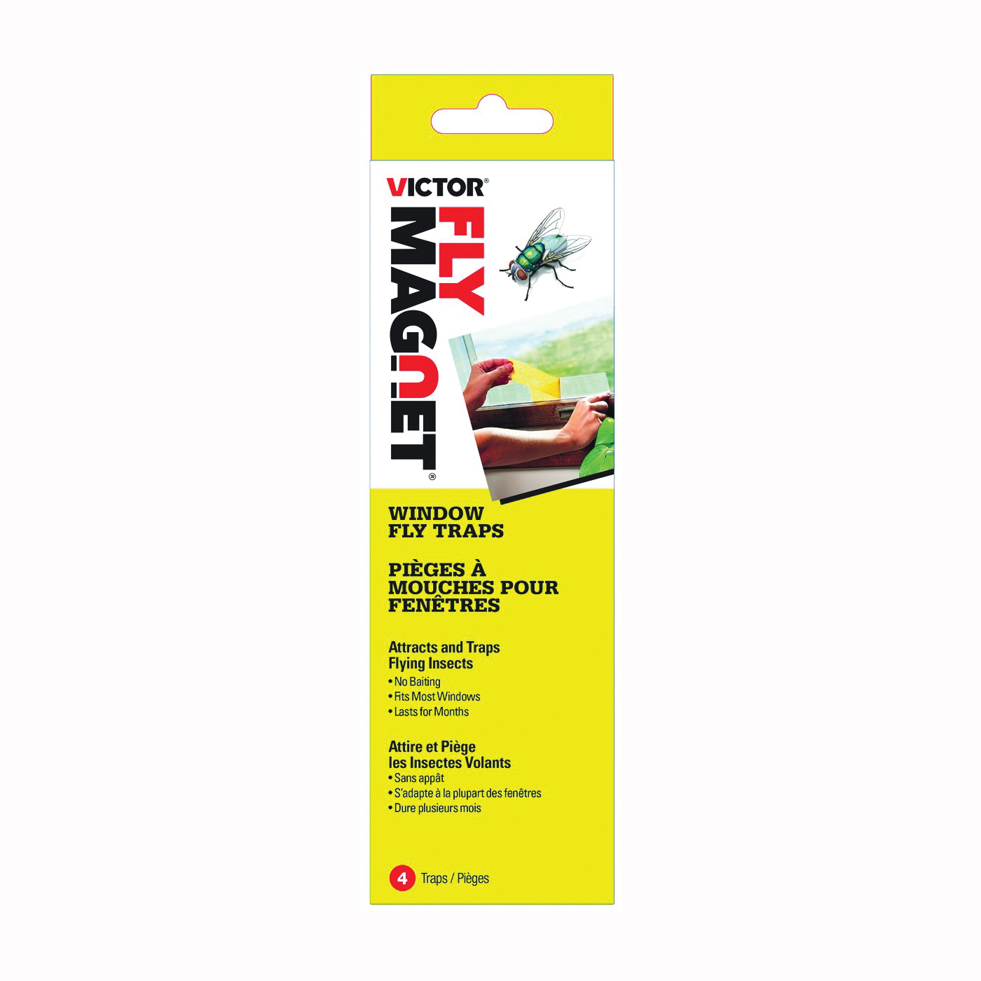 Picture of Victor M520CAN Window Fly Trap, 4 Package, Box