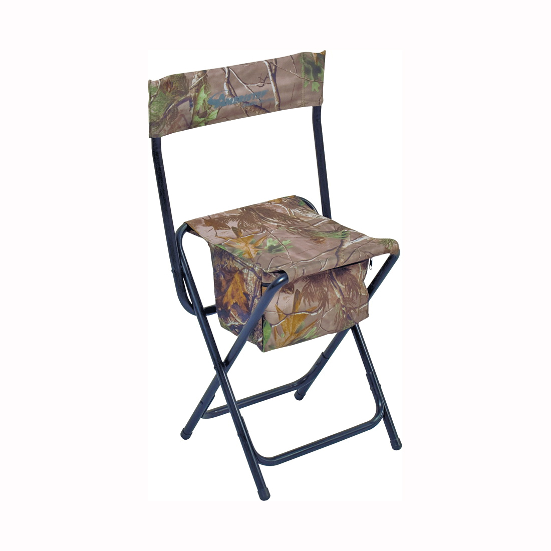 Picture of AMERISTEP 3RG1A014 High Back Chair, Heavy-Duty, Poly Fabric, Camouflage/Green