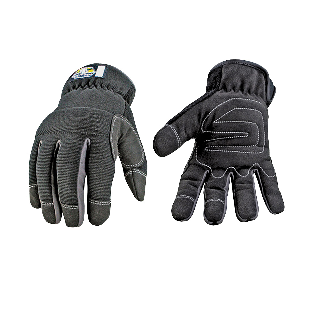 Picture of Youngstown Glove 12-3420-80-L Protective Gloves, L, Brow Wipe Thumb, Slip-On Cuff, Synthetic Leather