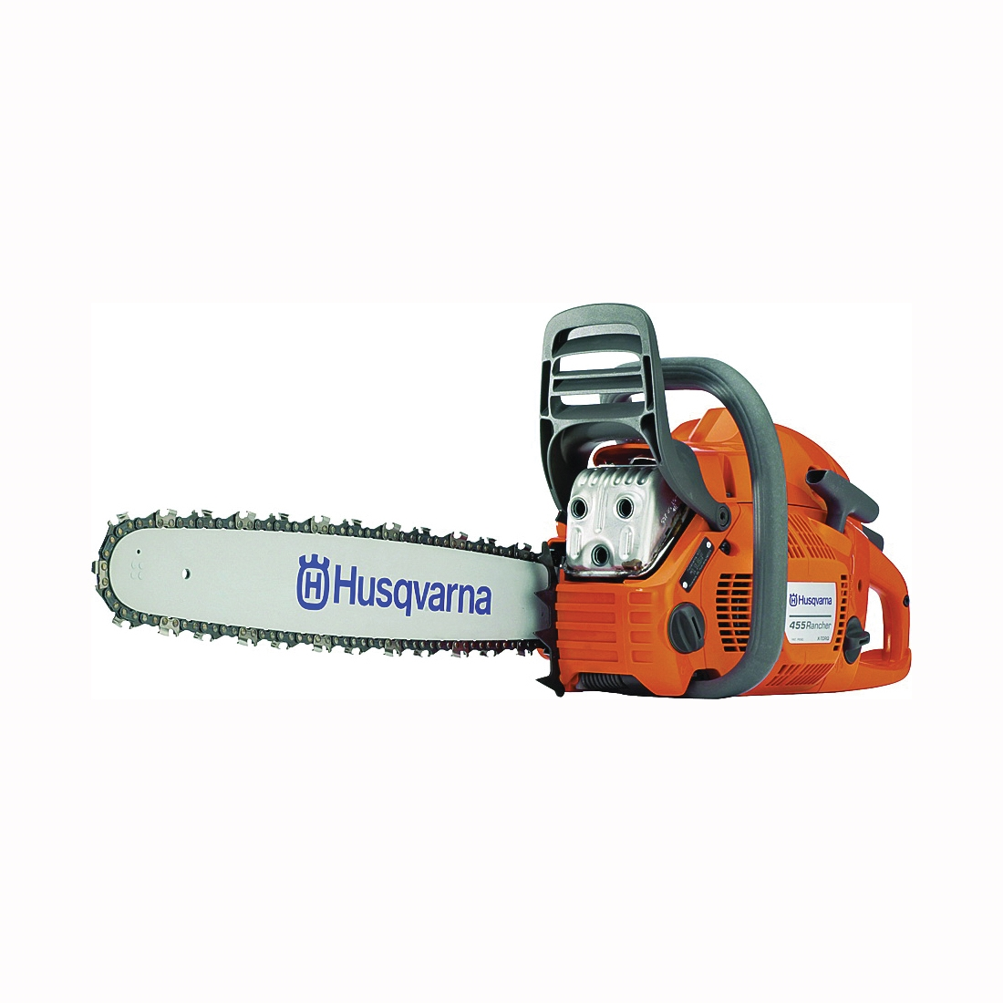 Picture of Poulan Pro 450-20 Chainsaw, Gas, 50 cc Engine Displacement, X-Torq Engine, 20 in L Bar/Chain, Ergonomic Handle