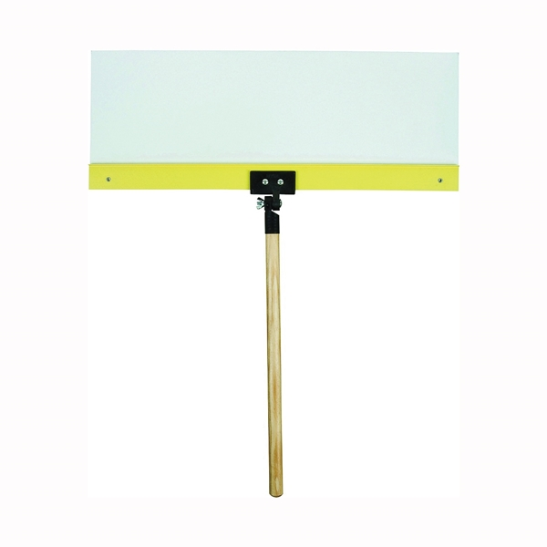 Picture of HYDE ProShield 28060 Spray Shield, 24 x 9 in Blade, Hardwood Handle, ACME Threaded Handle