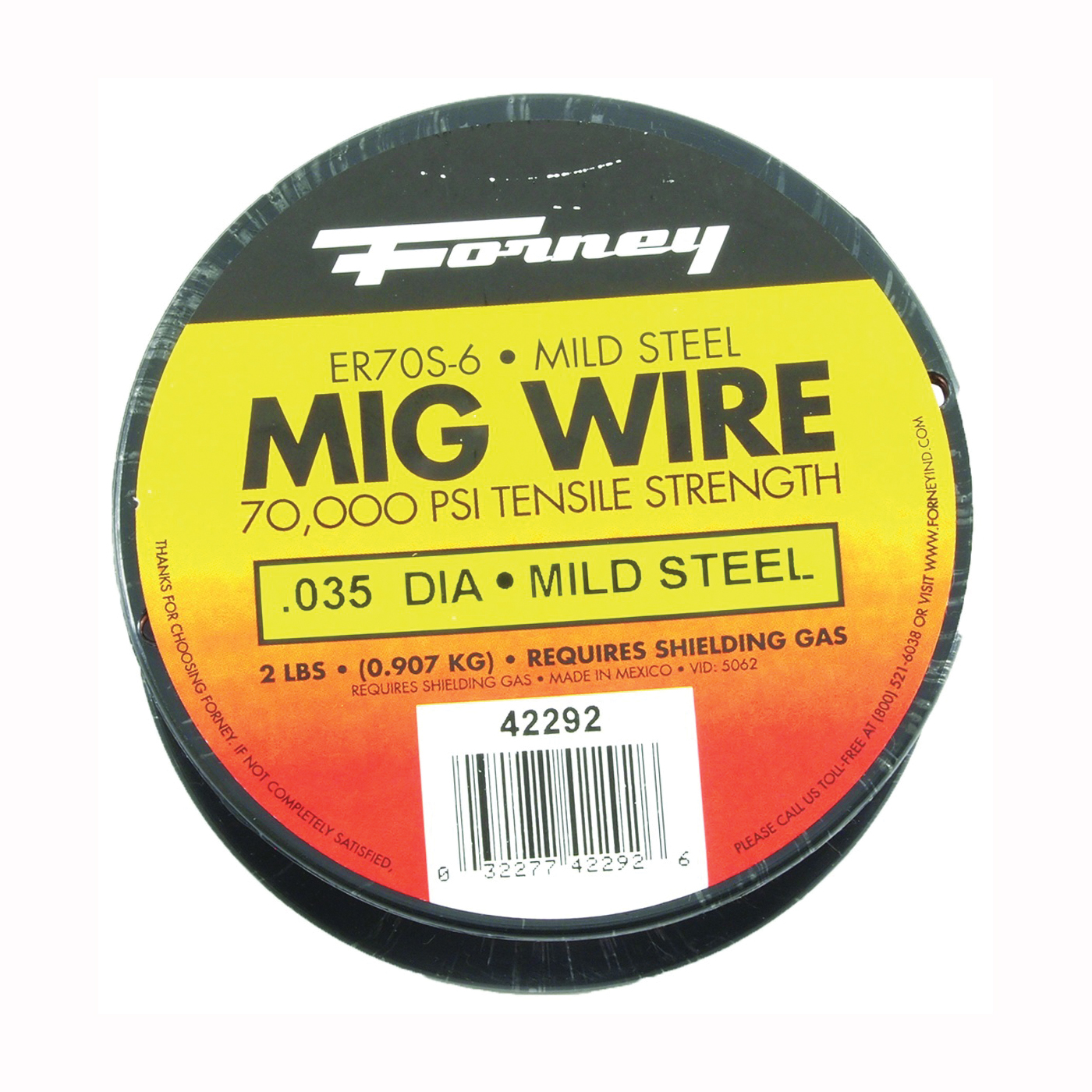 Picture of Forney 42292 MIG Welding Wire, 0.035 in Dia, Mild Steel
