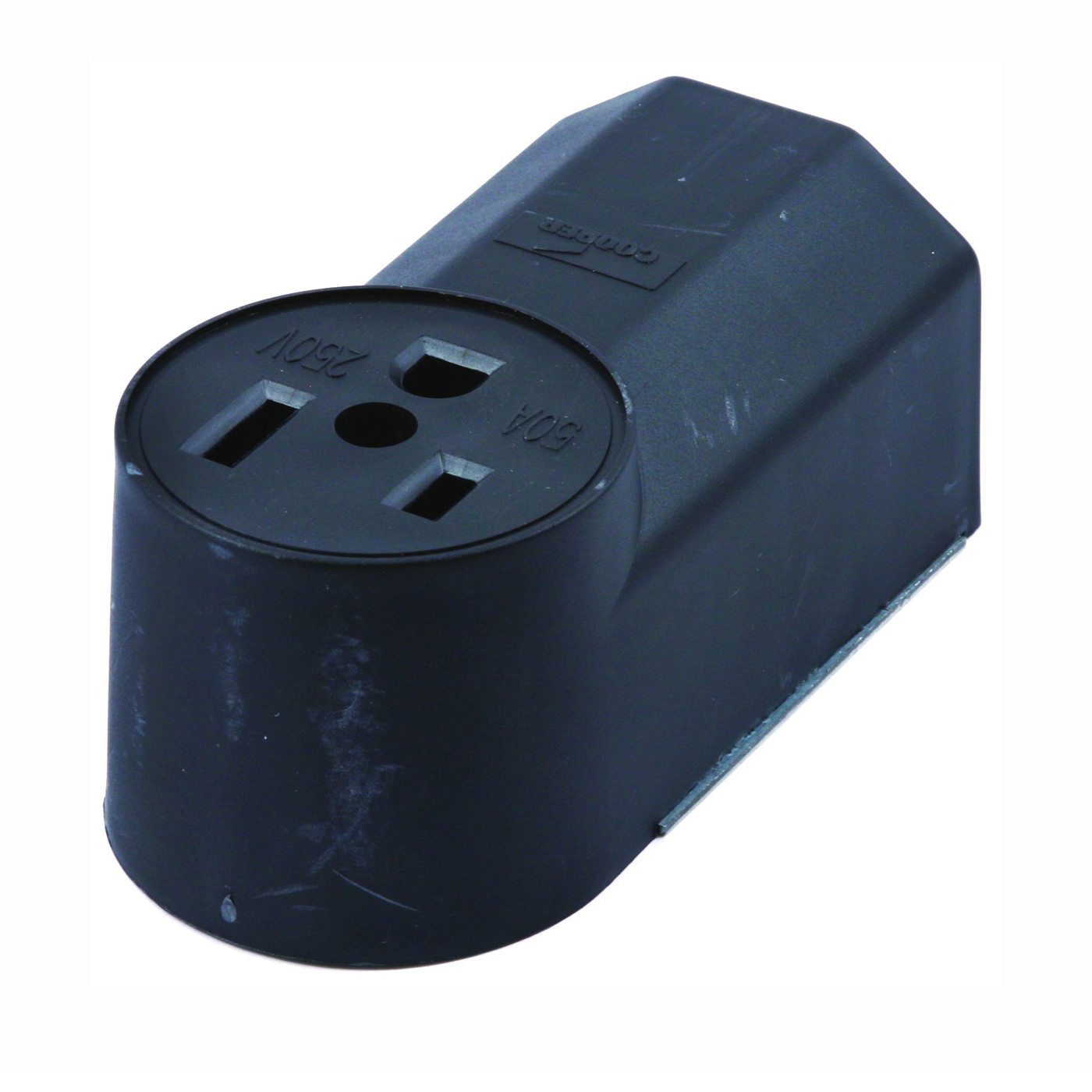 Picture of Forney 58402 Electrical Receptacle, 125/250 V, 50 A, 2 -Pole, Black