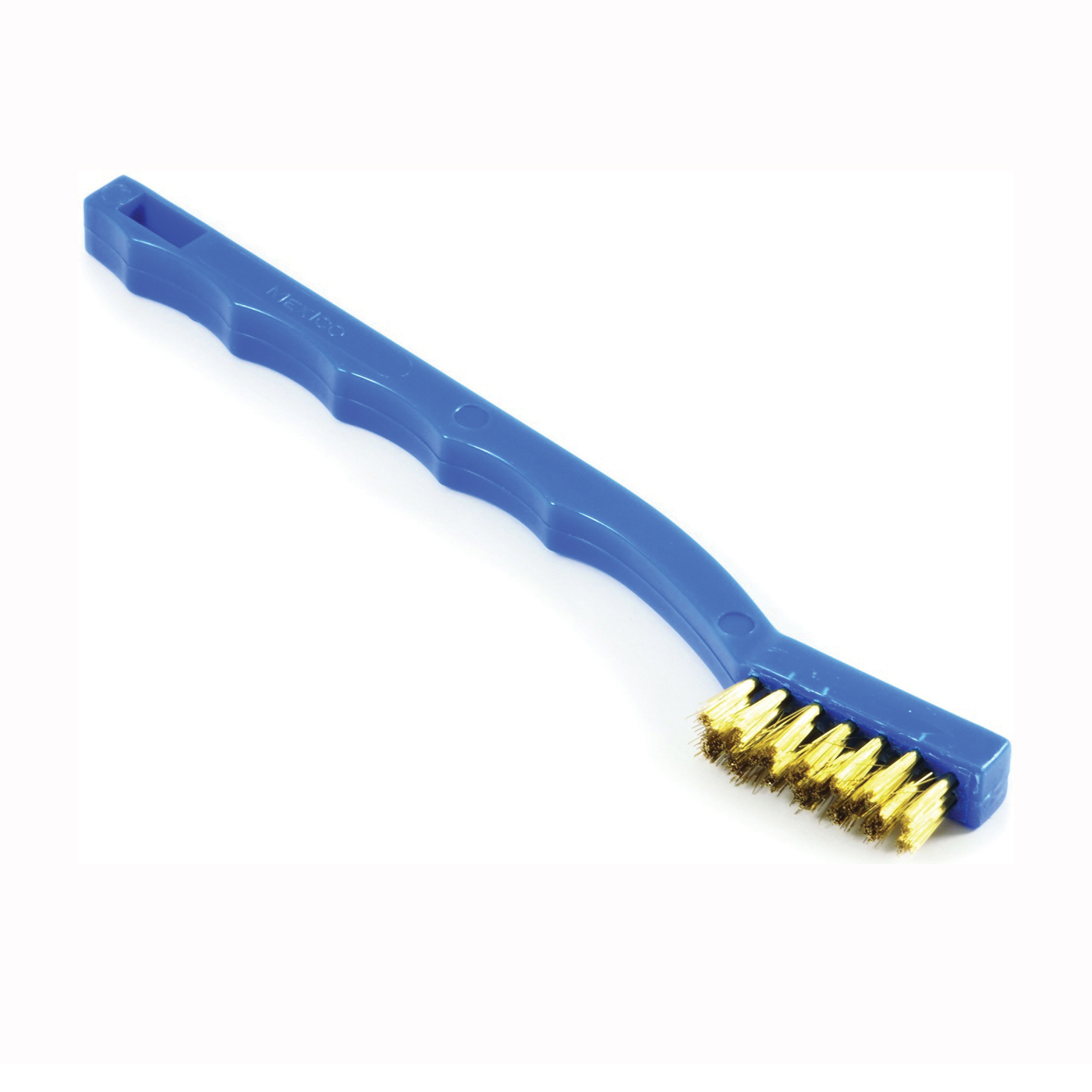 Picture of Forney 70489 Scratch Brush, 0.006 in L Trim, Brass Bristle