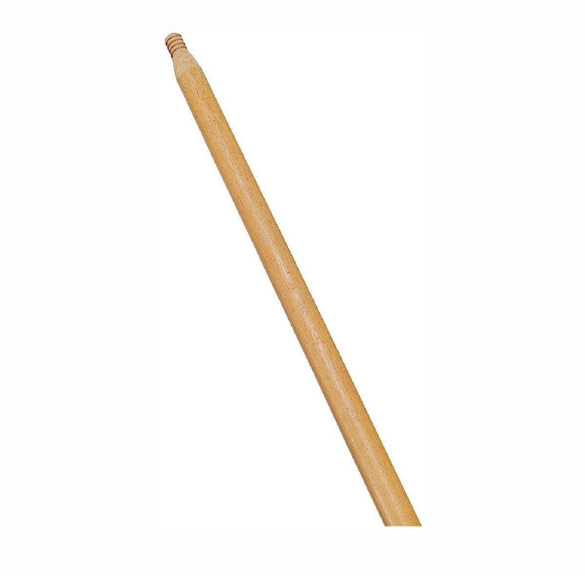 Picture of Rubbermaid FG635100LAC Broom Handle, 1-5/16 in Dia, 54 in L, Threaded, Wood, Natural