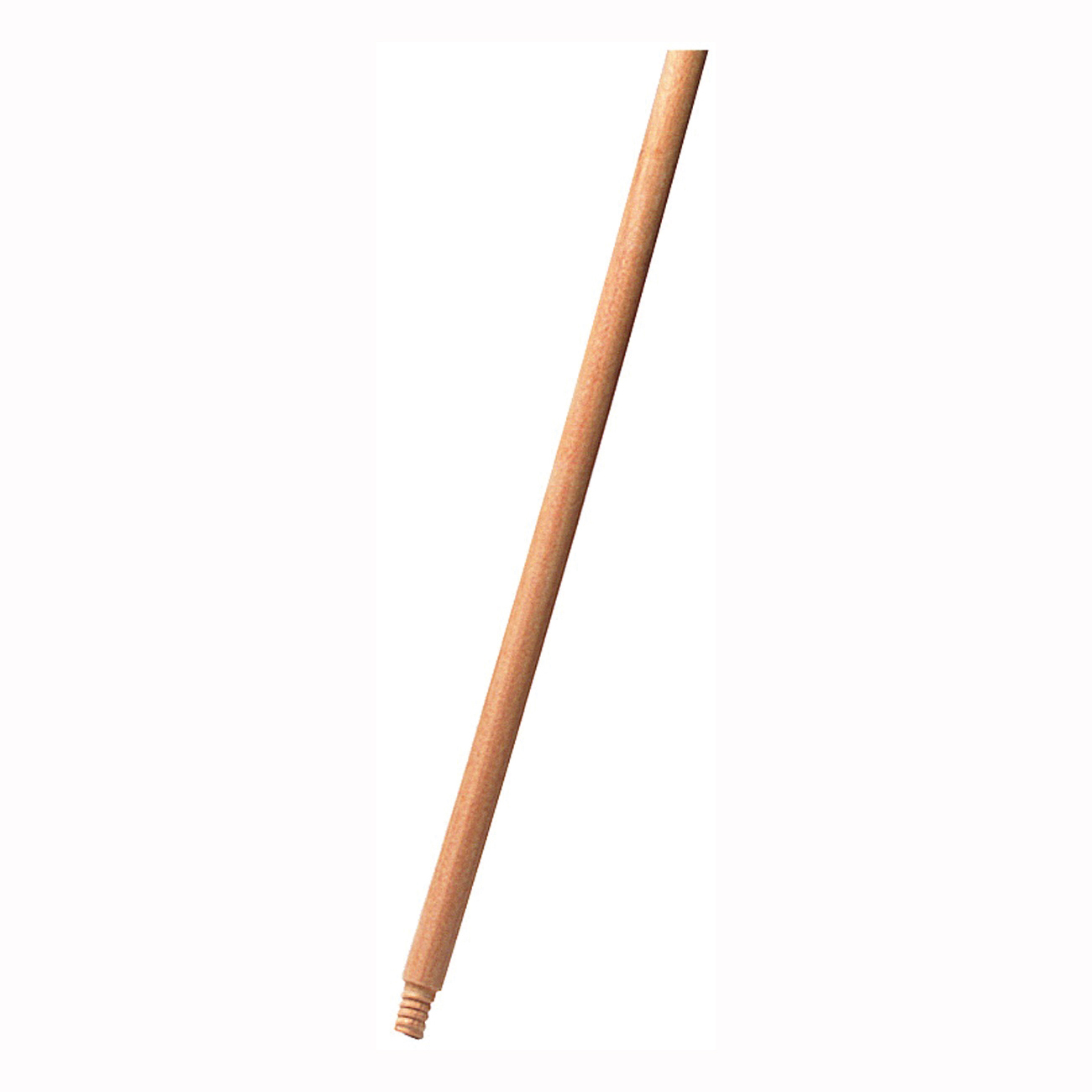 Picture of Rubbermaid FG636100LAC Broom Handle, 1-5/16 in Dia, 60 in L, Threaded, Wood, Natural