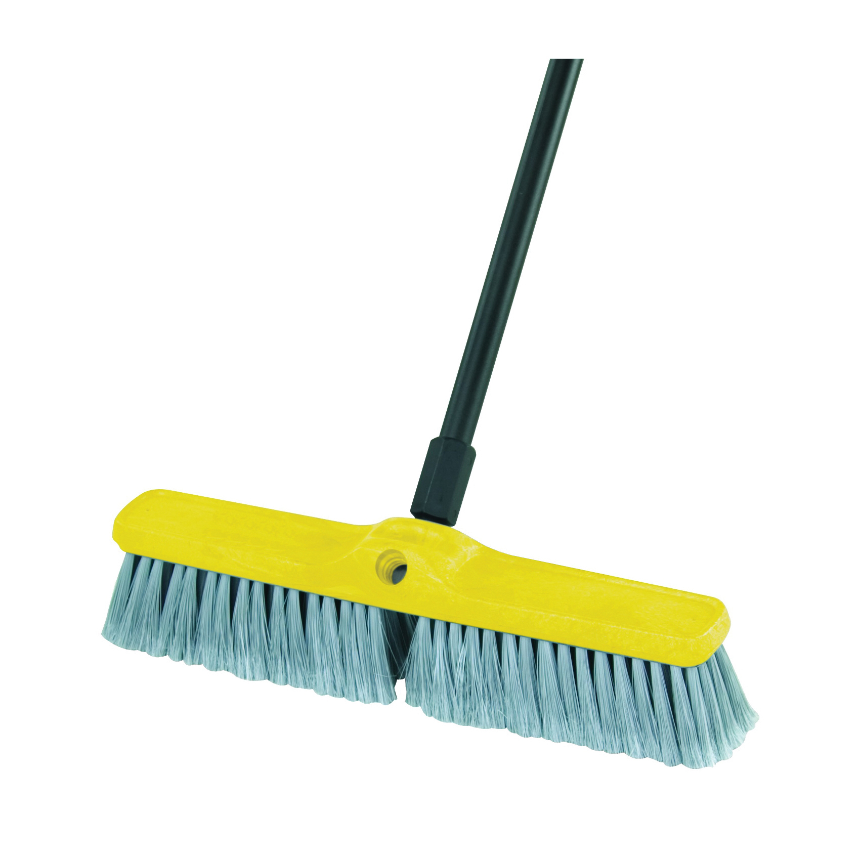 Picture of Rubbermaid FG9B0000GRAY Floor Sweep, 18 in Sweep Face, 3 in L Trim, Synthetic Polypropylene Bristle, 18 in L