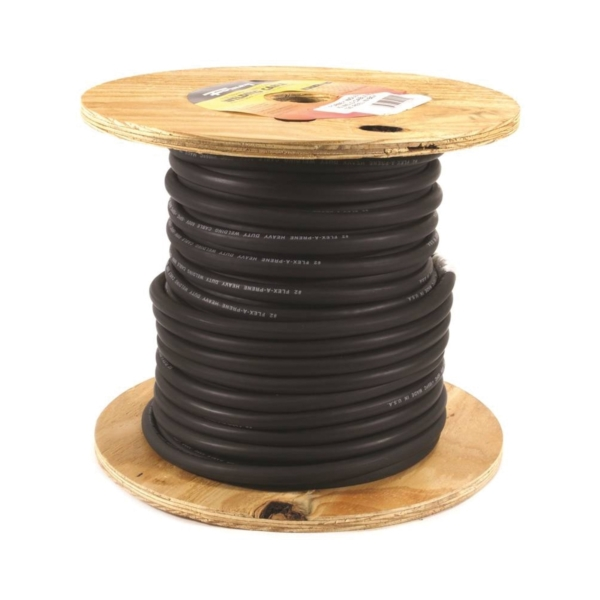 Picture of Forney 52024 Welding Cable, 2 AWG Cable, 125 ft L, EPDM Rubber Insulation, Reel