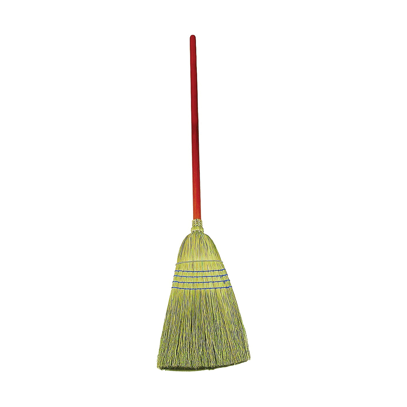 Picture of Rubbermaid FG638300BLUE Warehouse Broom, 12 in Sweep Face, Corn Fiber Bristle, 58-1/4 in L, Lacquered/Stained Handle