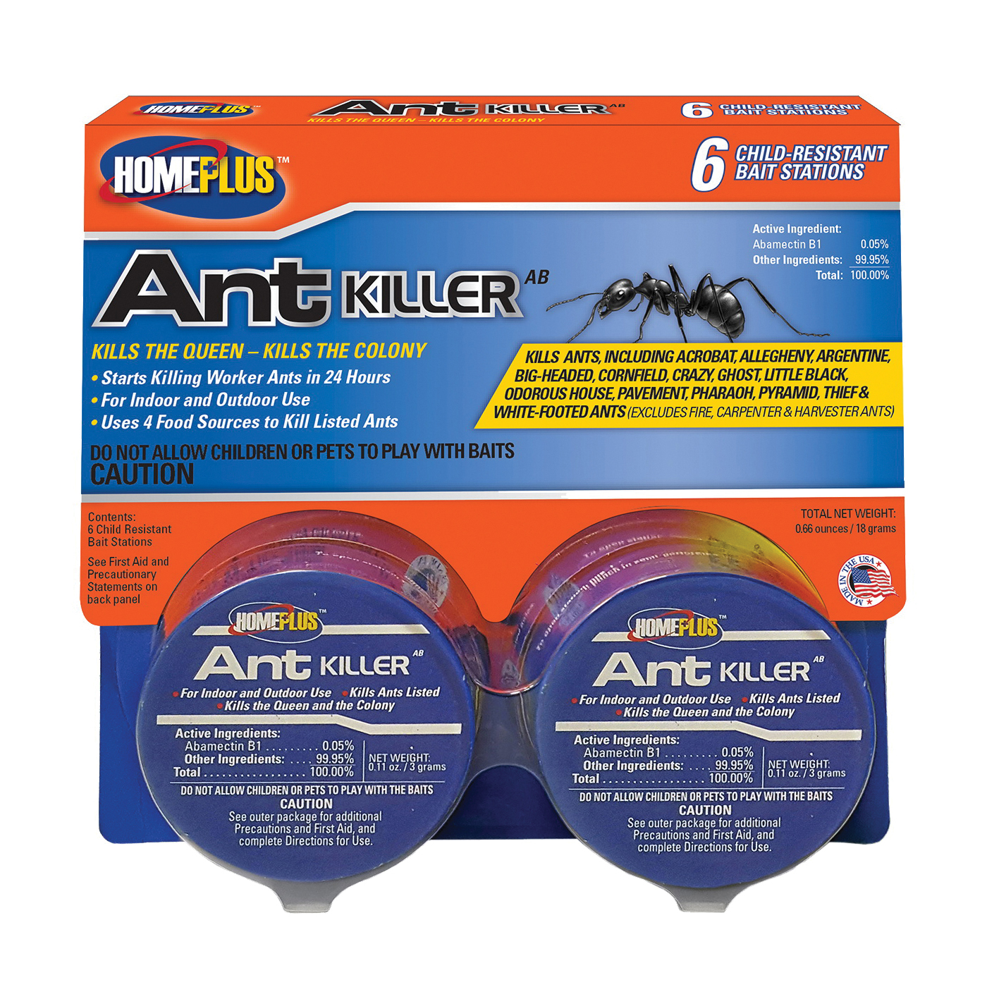 Picture of Pic Homeplus AT-6ABMETAL Ant Killer, Gel, Sweet