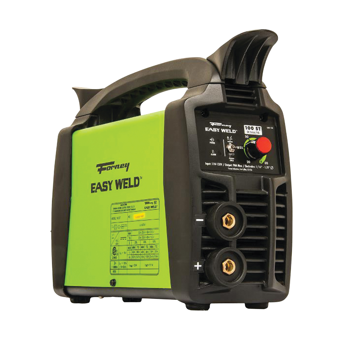 Picture of Forney Easy Weld 298 Stick Machine, 120 V Input, 90 A Input, 1 -Phase, 5/16 in