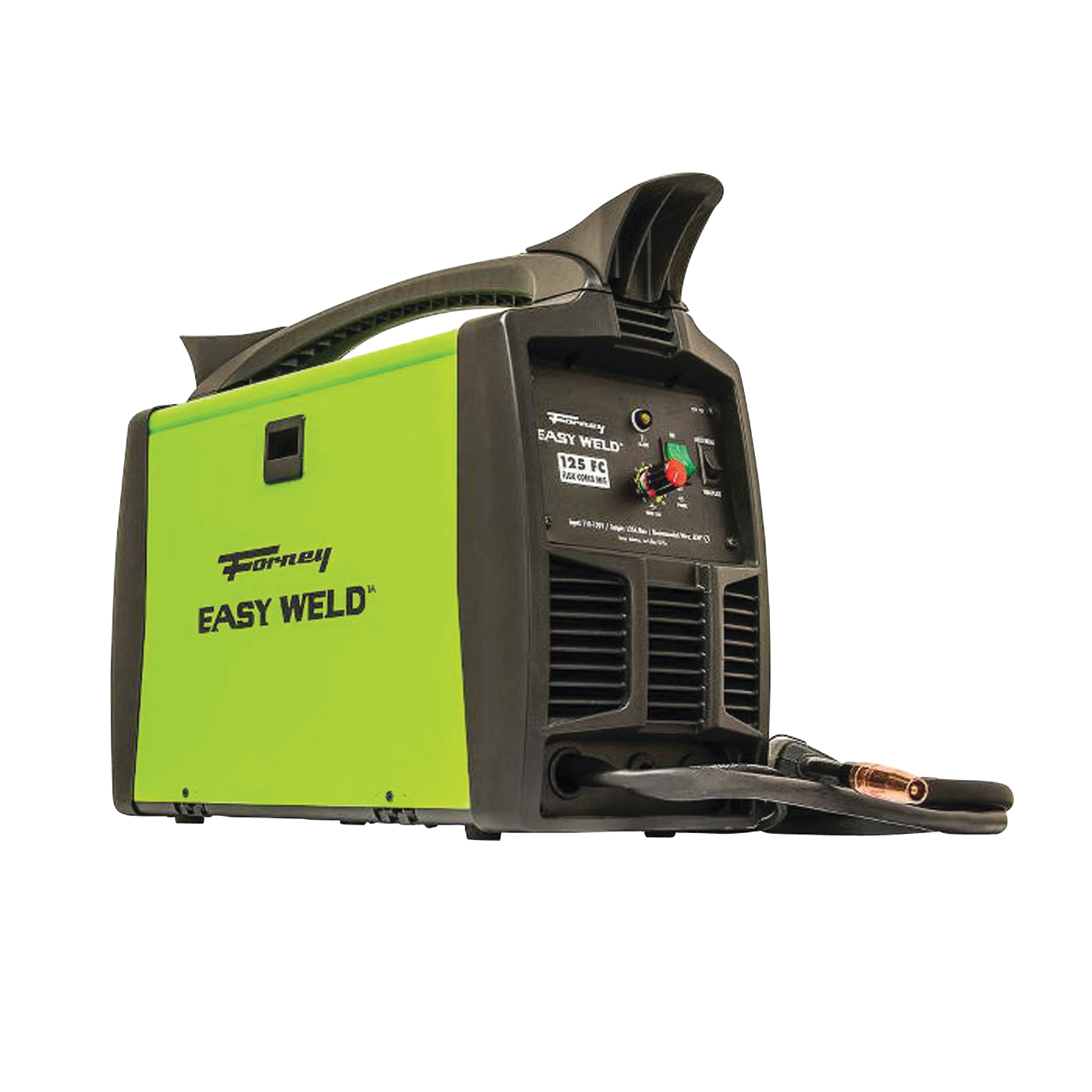 Picture of Forney EASY WELD 299 MIG Welder, 120 V Input, 125 A, 1 -Phase, 20 % Duty Cycle