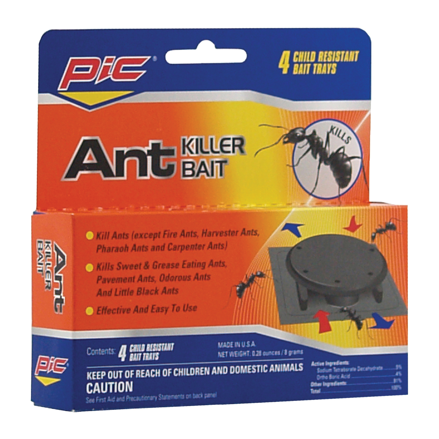 Picture of Pic Homeplus AT-4 Ant Killer, Gel, Sweet