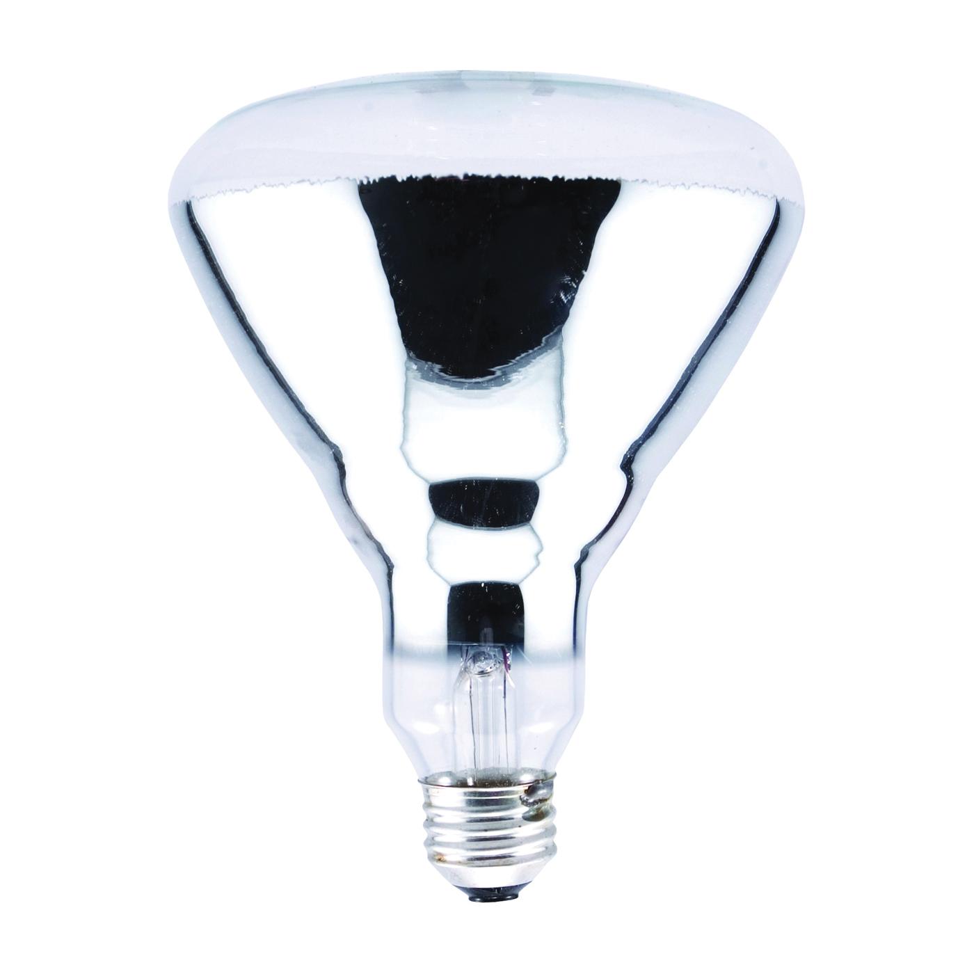 Picture of Sylvania 14664 Incandescent Lamp, 50 W, BR40 Lamp, Medium E26 Lamp Base, 2000 Lumens, 2850 K Color Temp