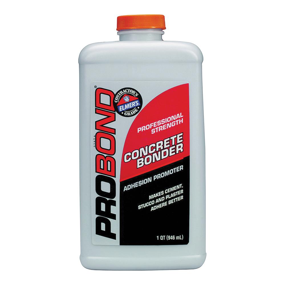 Picture of Elmers ProBond E862 Concrete Bonder, Liquid, Light Gray, 1 qt Package, Bottle