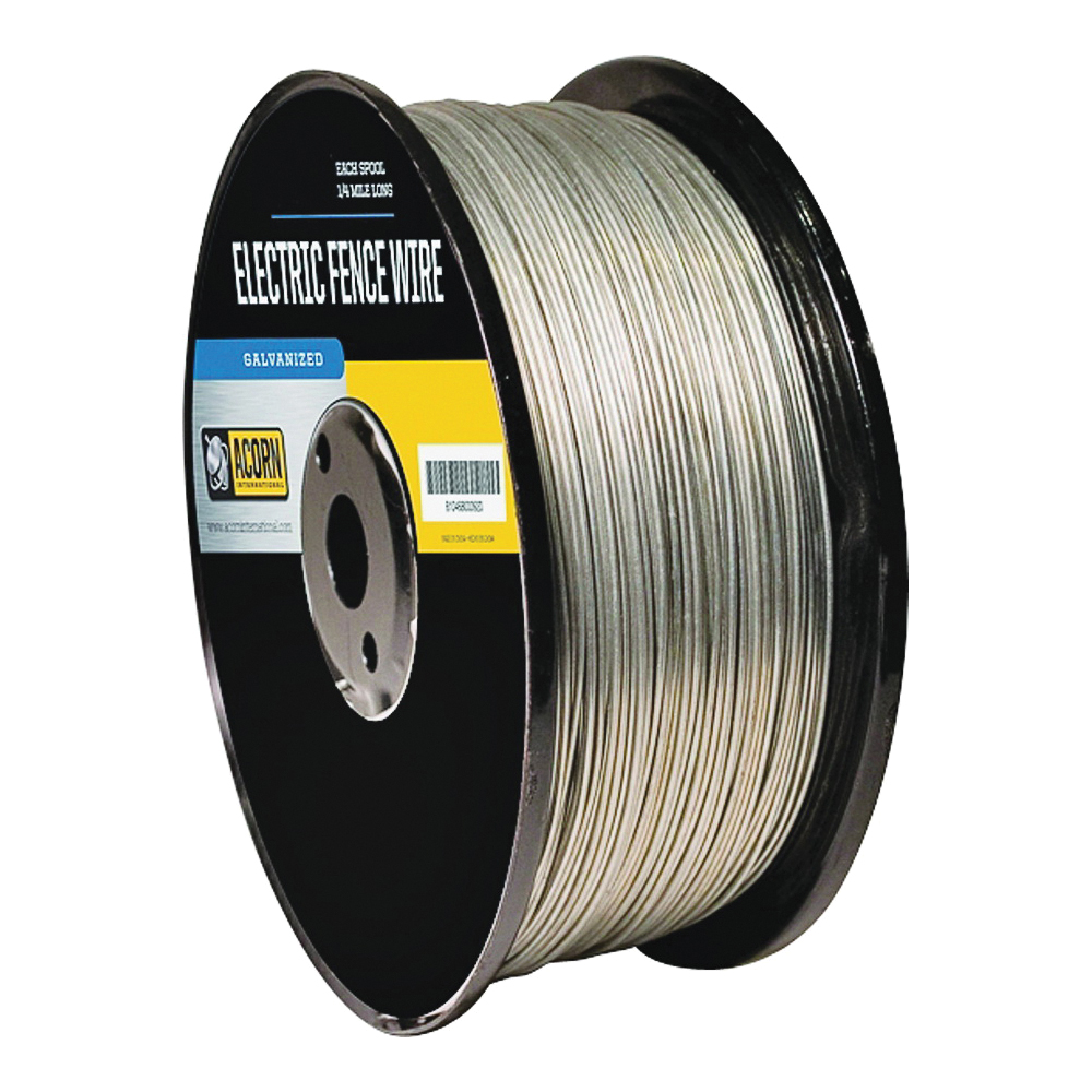 Picture of Acorn International EFW1414 Electric Fence Wire, 14 ga Wire, Metal Conductor, 1/4 mile L
