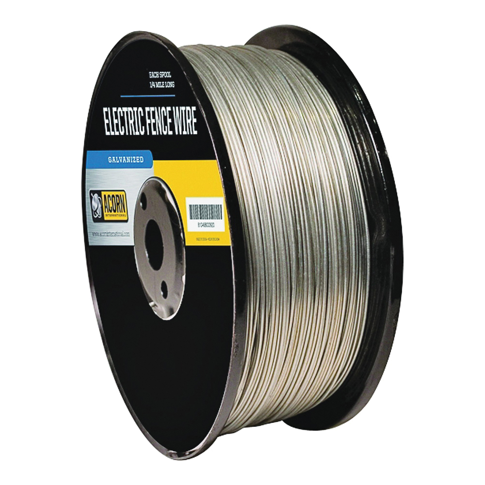 Picture of Acorn International EFW1412 Electric Fence Wire, 14 ga Wire, Metal Conductor, 1/2 mile L