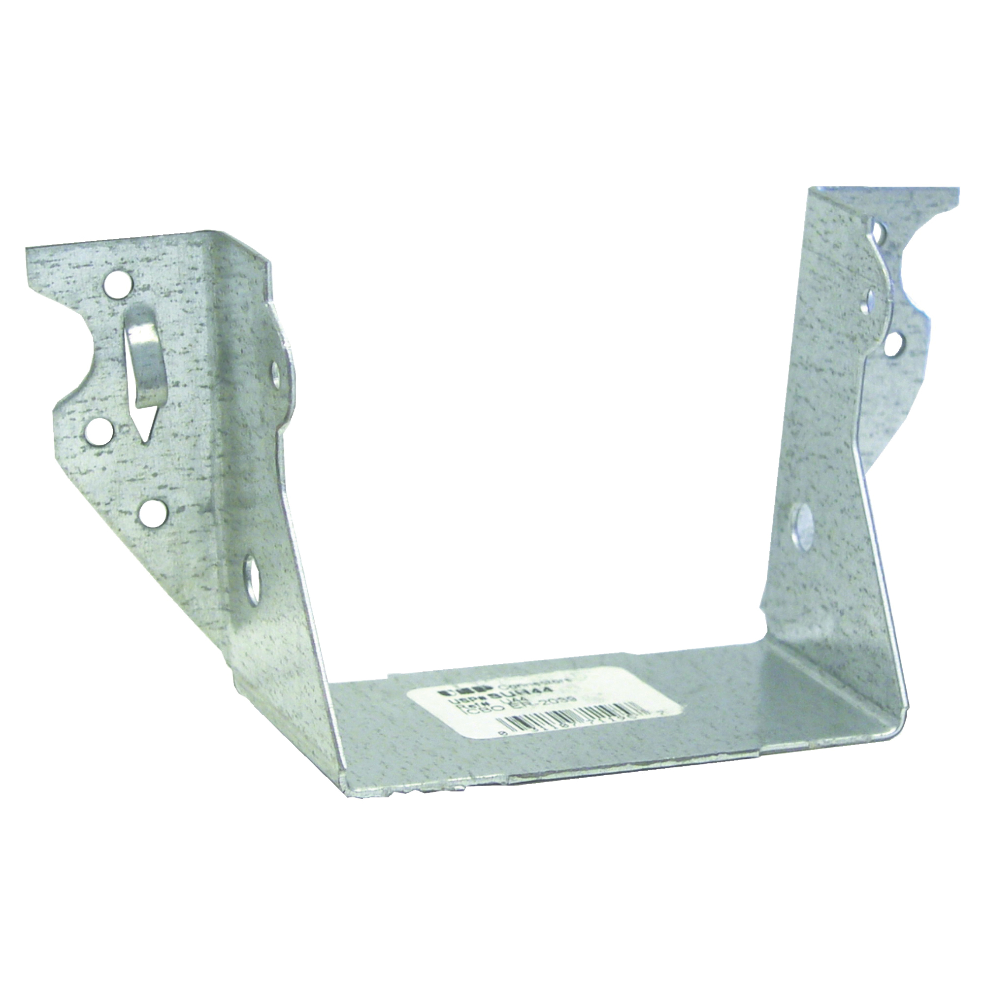 Picture of MiTek SUH44 Joist Hanger, 2-7/8 in H, 2 in D, 3-9/16 in W, 4 in x 4 in, Steel, G90 Galvanized, Face Mounting