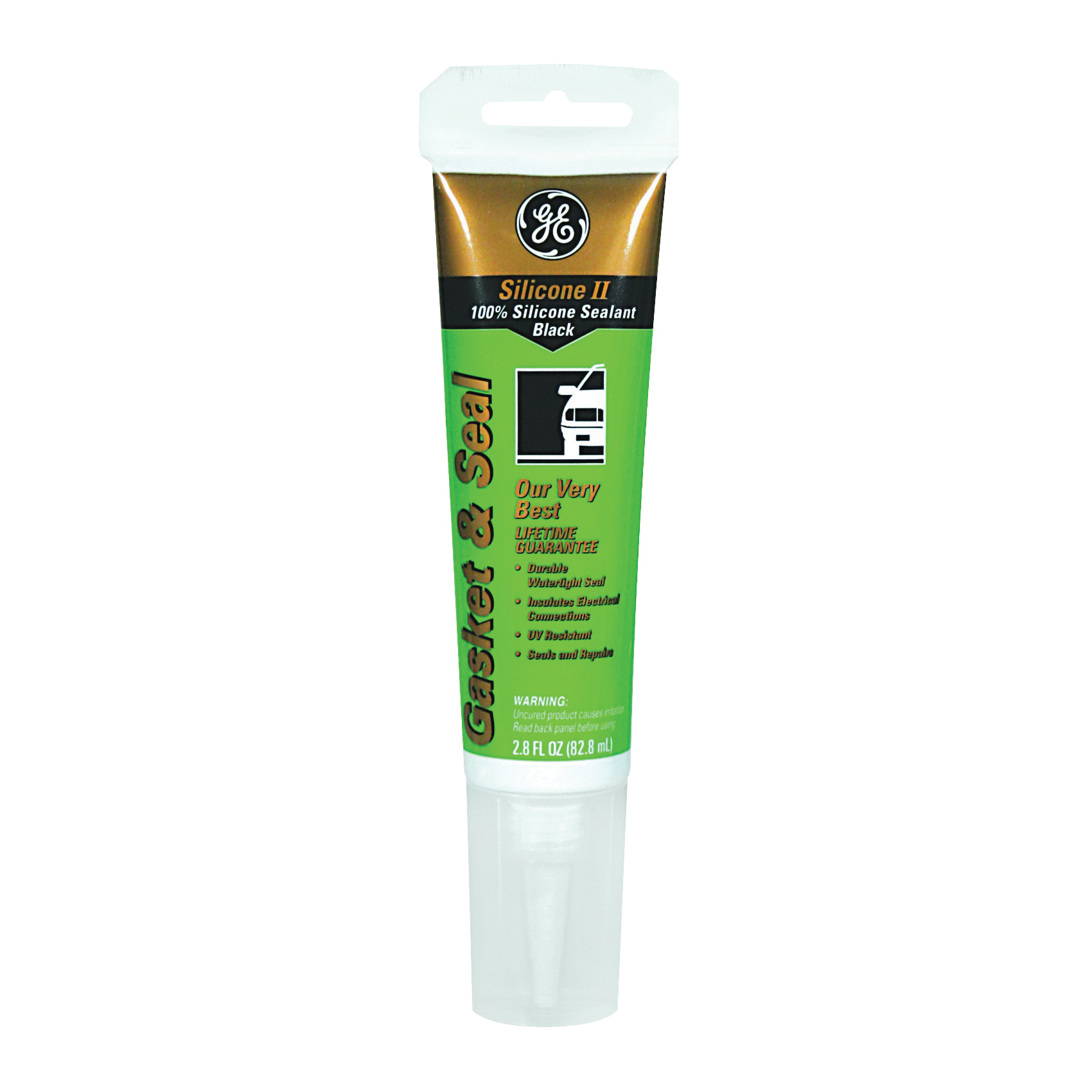 Picture of GE GE283 Gasket Sealant, 2.8 oz Package, Solid, Ammonia