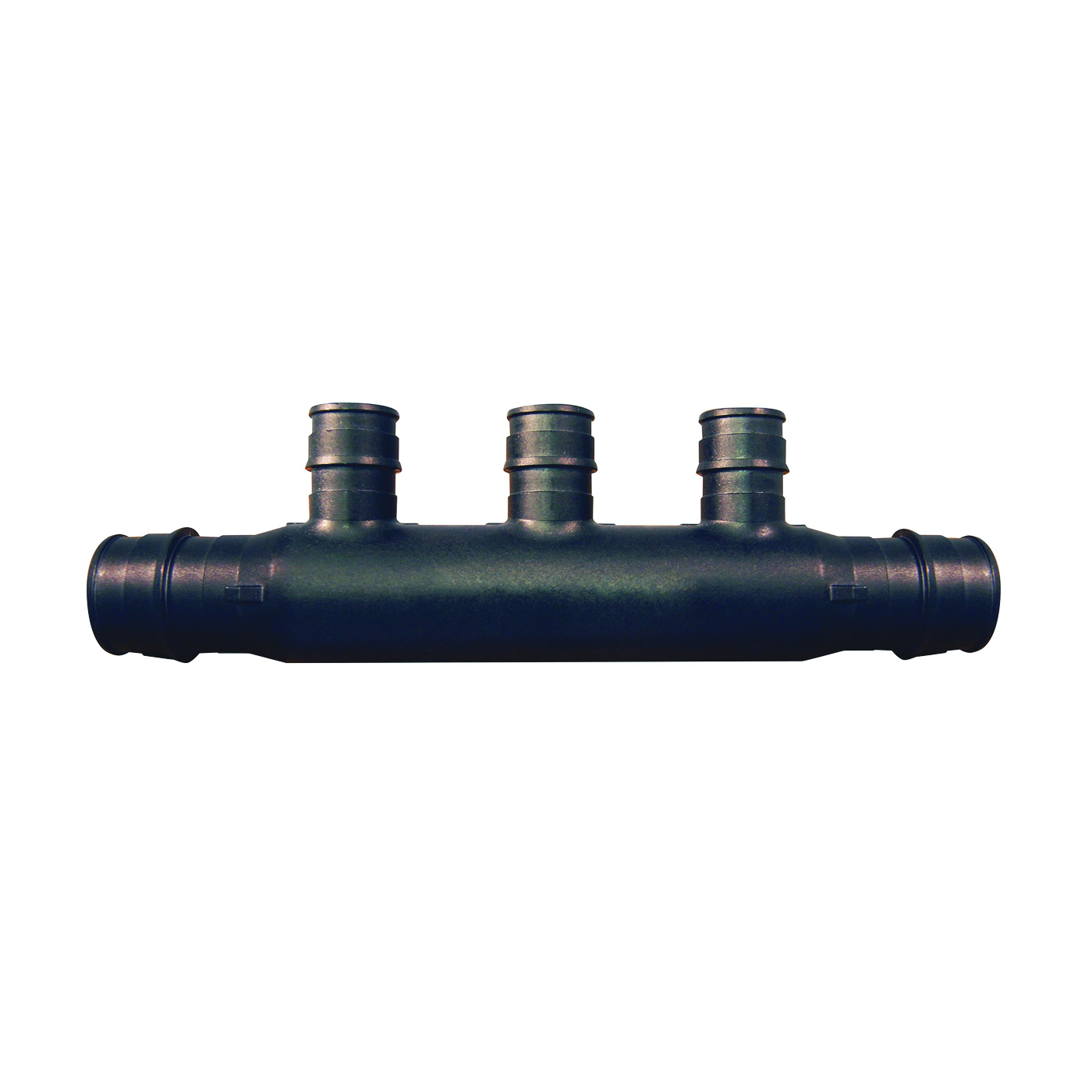 Picture of Apollo ExpansionPEX EPXM3PTO Open End Manifold, 2-Inlet, 3/4 in Inlet, 3-Outlet, 1/2 in Outlet, Brass