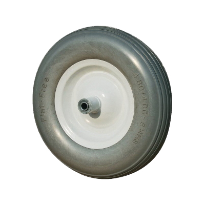 Picture of ProSource PR1602 Wheelbarrow Tire, Ribbed Tread, Polyurethane Tire