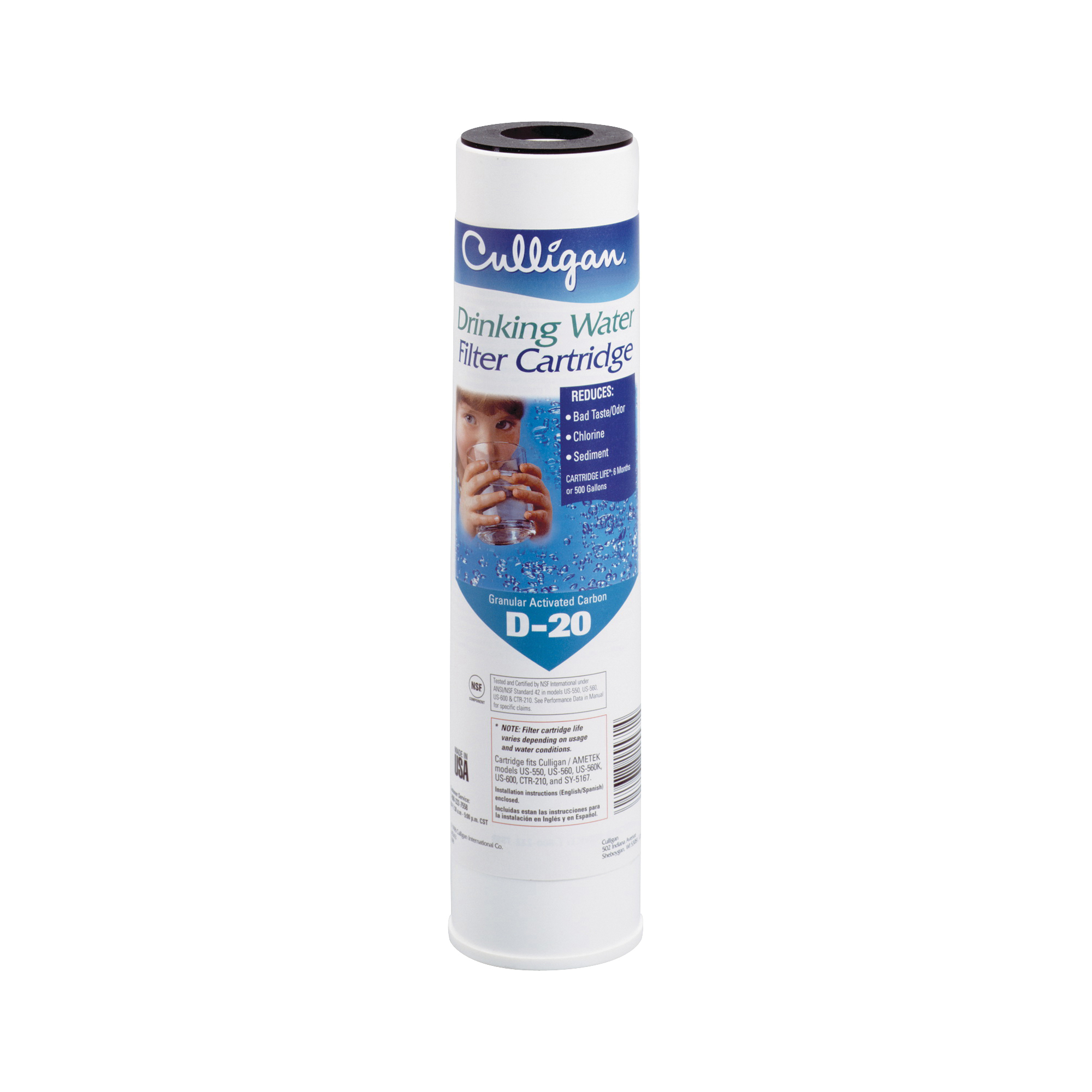 Picture of Culligan D-20A Drinking Water Replacement Filter
