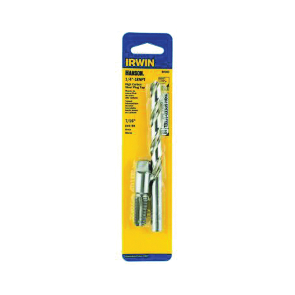 Picture of IRWIN 80260 Tap and Drill Bit Set, HCS/HSS