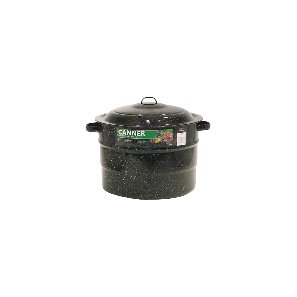 Picture of Granite Ware F0707-2 Canner, 21.5 qt Capacity, Steel, Porcelain Enamel-Coated