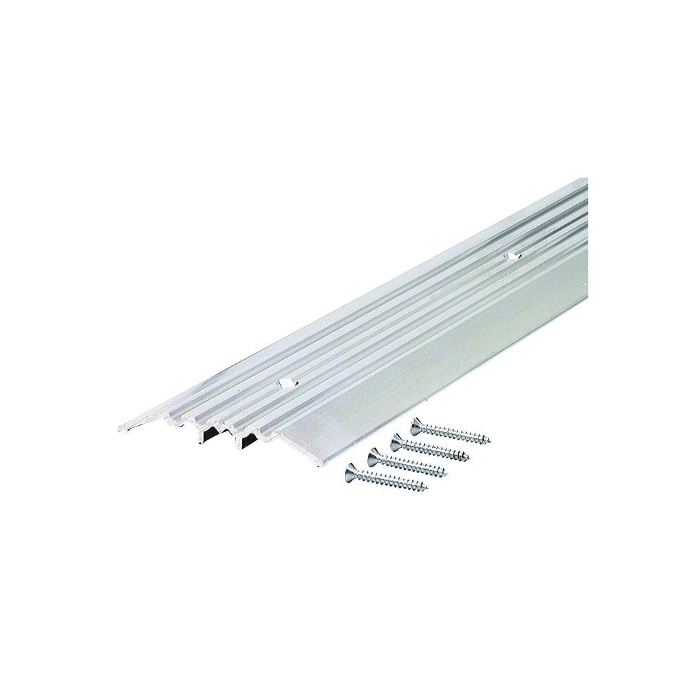 Picture of M-D 11502 Top Threshold, 36 in L, 4 in W, Aluminum, Aluminum