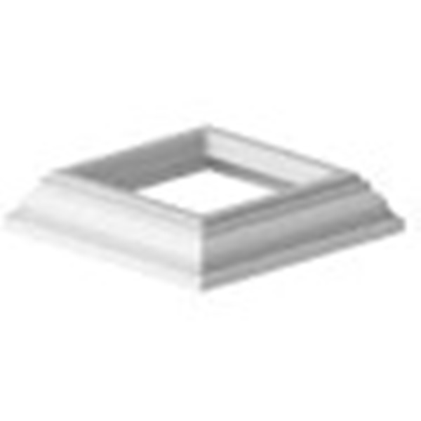 Picture of Xpanse Premier 73012503 Heritage Base Trim, Vinyl, White, For: Williamsburg, Traditional, Select, Premier Posts