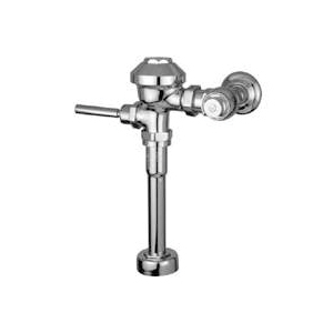 Picture of Zurn Z6001-WS1-YB-YC Diaphragm Flush Valve, Chrome, Manual Actuator, For: 1-1/4 in gal Urinals