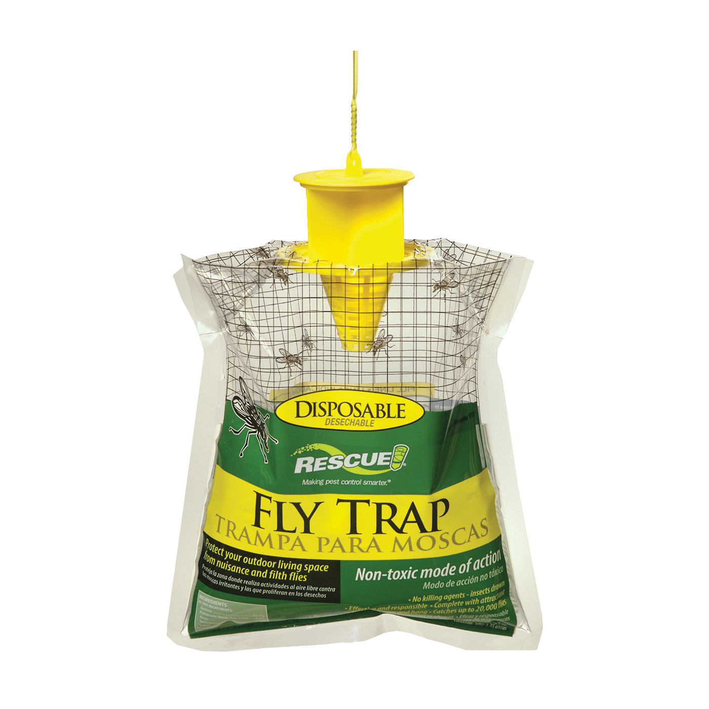 Picture of RESCUE FTD-DB12 Fly Trap, Solid, Musty