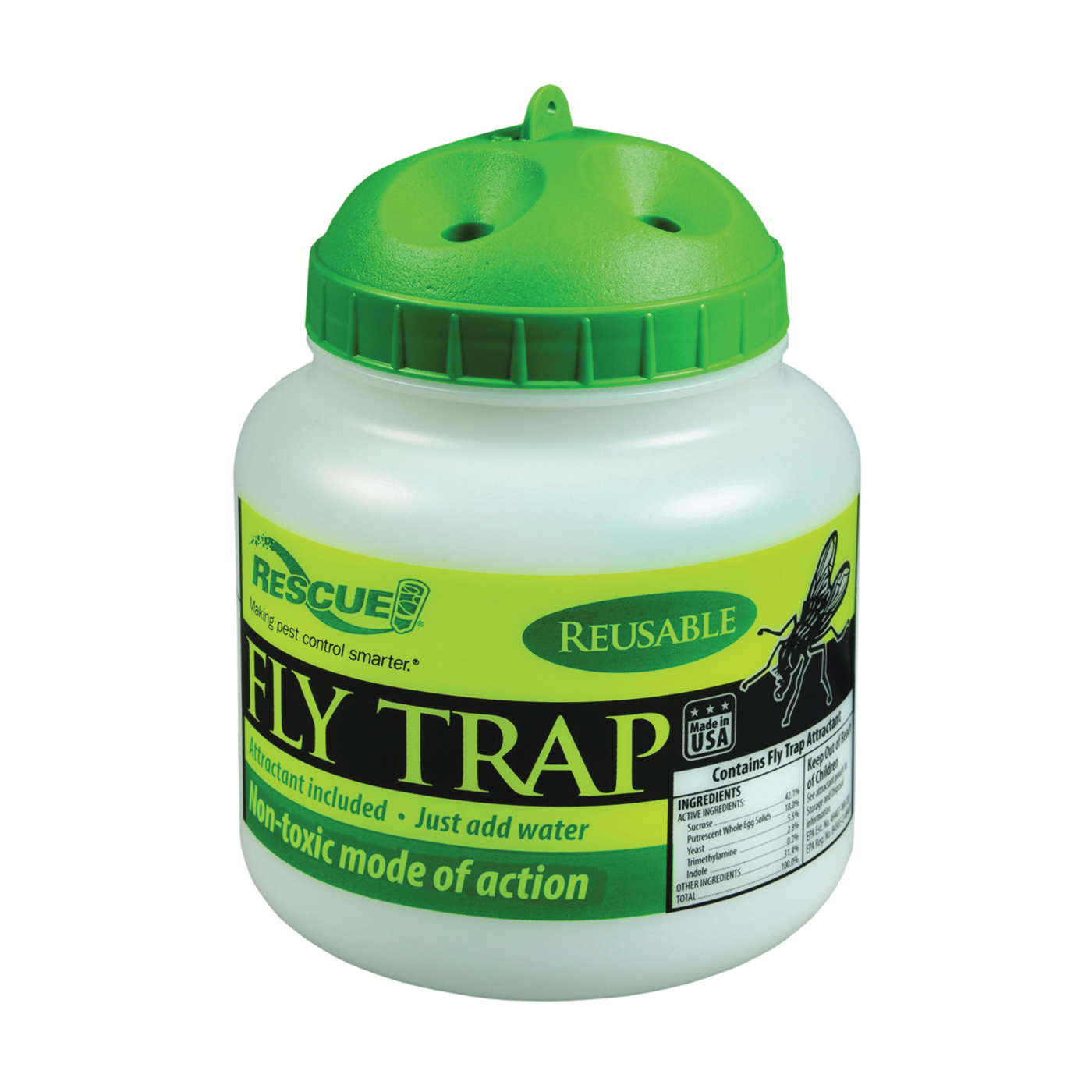 Picture of RESCUE FTR-SF4 Fly Trap Refill Pack, Solid, Musty, Refill Pack