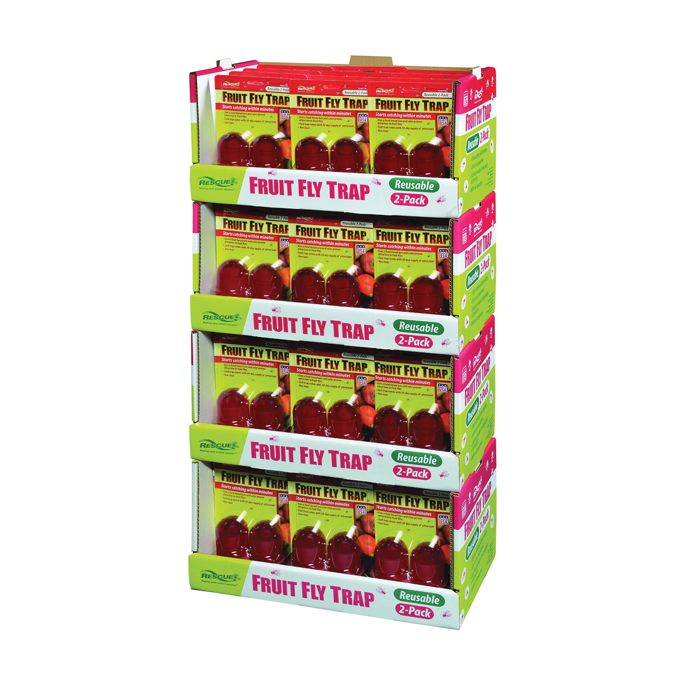Picture of RESCUE FFTR2-FD48 Fruit Fly Trap
