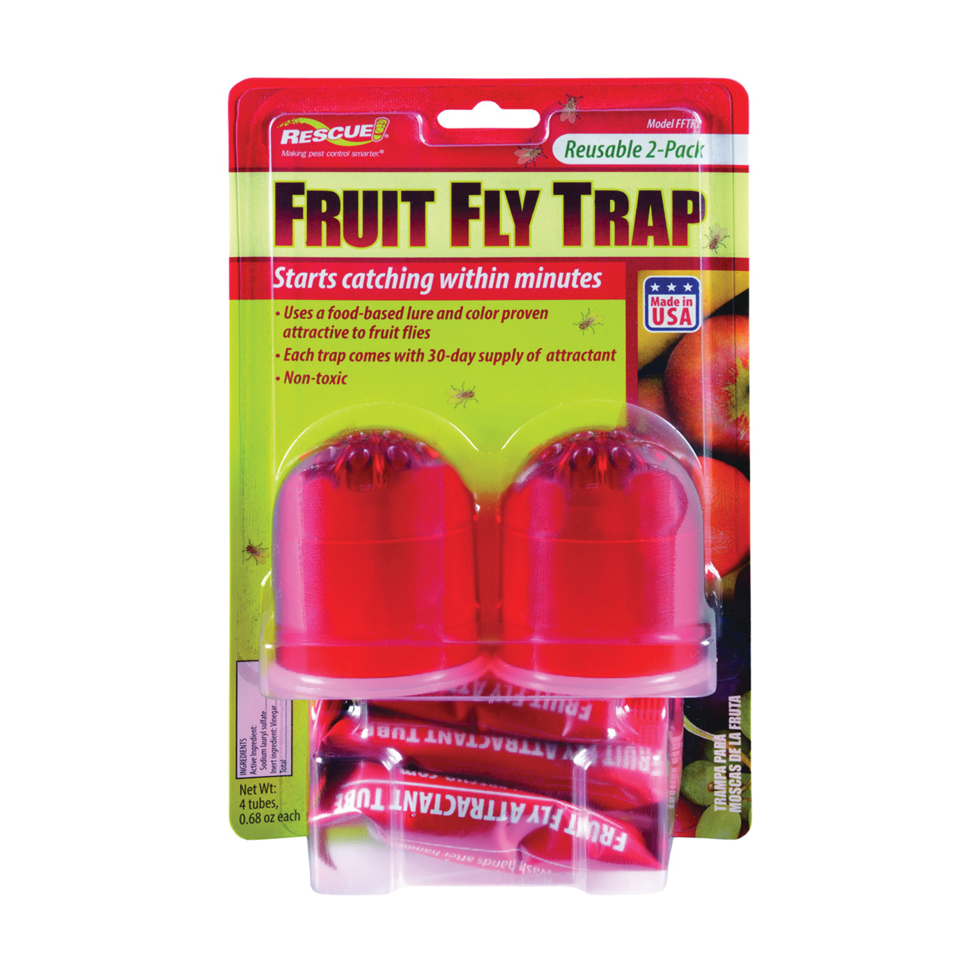 Picture of RESCUE FFTR2-SF6 Fruit Fly Trap